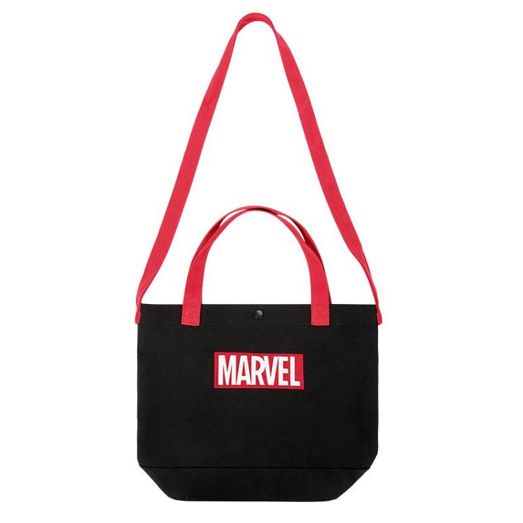 MINISO Marvel Embroidered Shopping Bag - Letter - iKids