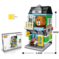 LOZ Mini Street Building Blocks - Little Bear Store - iKids