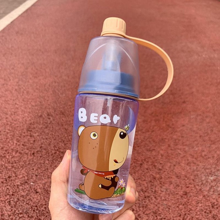 Brown Bear Spray Water Bottle - iKids