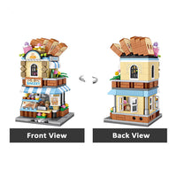 LOZ Mini Street Building Blocks - Bakery Shop - iKids