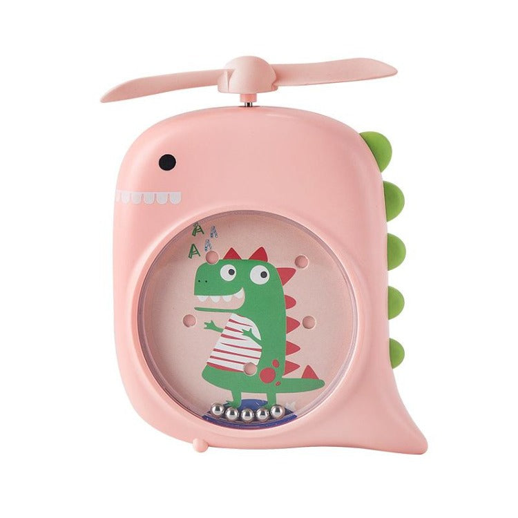 Pink Flying Dinosaur Pocket Fan - iKids