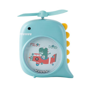 Blue Flying Dinosaur Pocket Fan - iKids