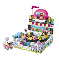 LOZ Amusement Park Blocks Bumper Car - iKids