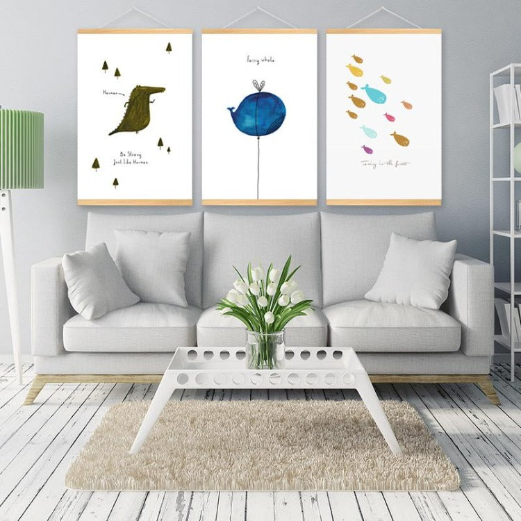 Poster Hanger Frame - Fairy in the forest - iKids