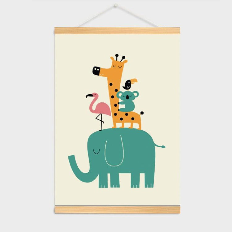 Poster Hanger Frame - Forest Animals - iKids