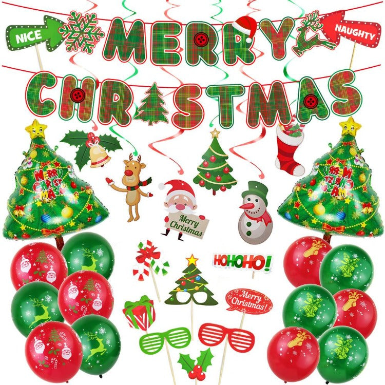 Happy Christmas Party Decor Balloons - iKids