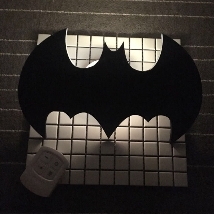 Batman Remote Night Light Black - iKids