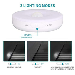Motion Sensor Rechargeable Light Round - iKids