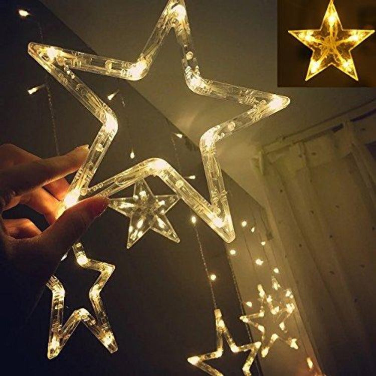 LED String Lights 2.5 Curtain Star - iKids