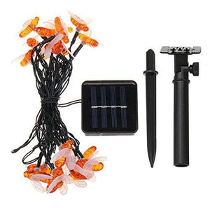 5m 20 LEDs Outdoor Solar Bee String Lights - iKids
