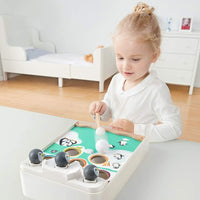 TOP BRIGHT Penguin Snowball Table Game