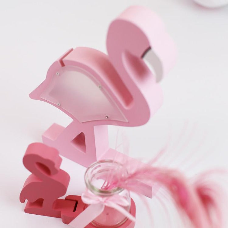 Flamingo Money Box Pink - iKids