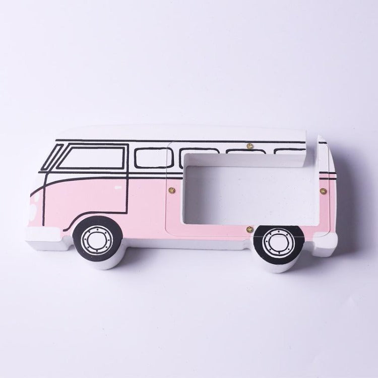 Pink Bus Money Box - iKids
