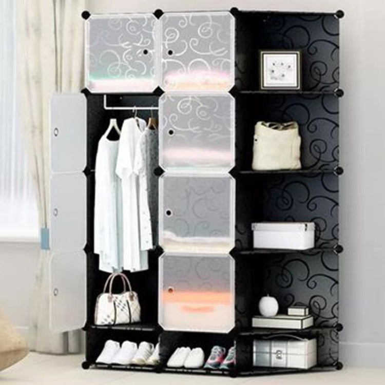 DIY Storage Cabinet Black - iKids