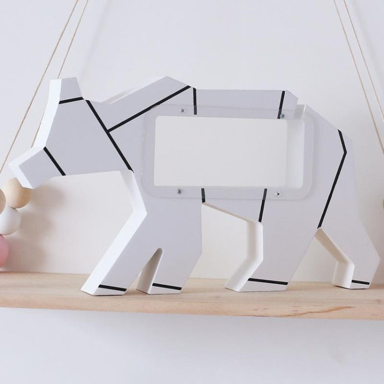 White Polar Bear Money Box - iKids