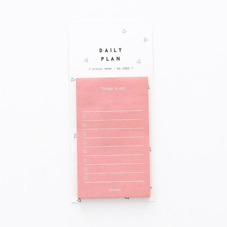 Daily Planner Sticky Notes Red - iKids