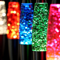 Peace Motion Glitter Lamp White - iKids