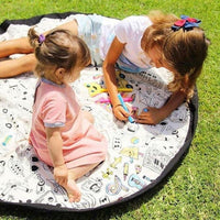 Portable Play Mat Village - Color It - iKids