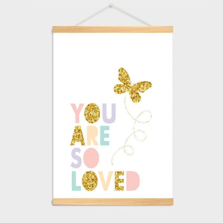 Poster Hanger Frame - You are so loved - iKids