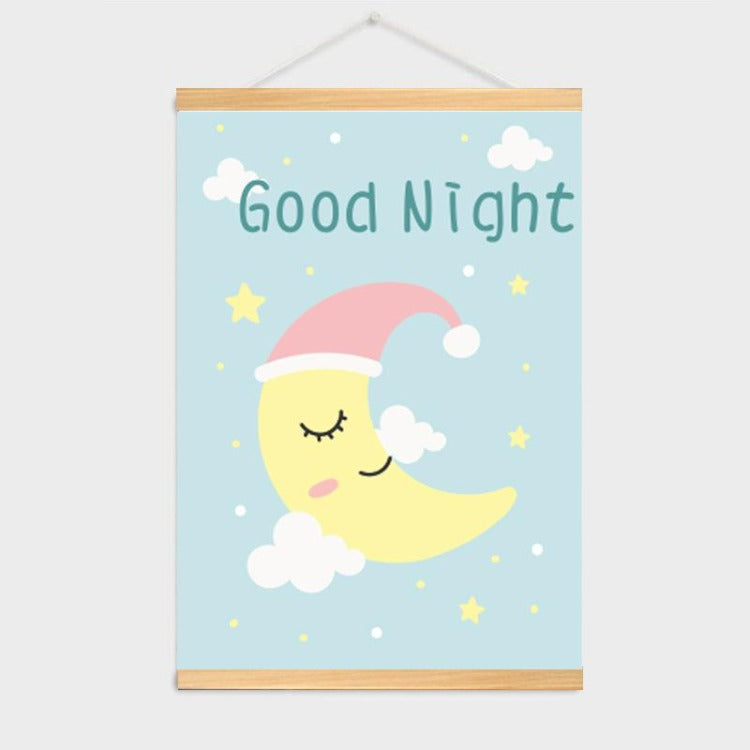 Poster Hanger Frame - Good Night - iKids