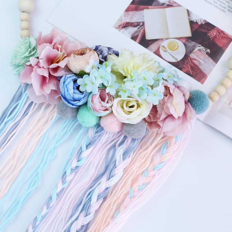 Wooden Beads Garland with Tassel - iKids