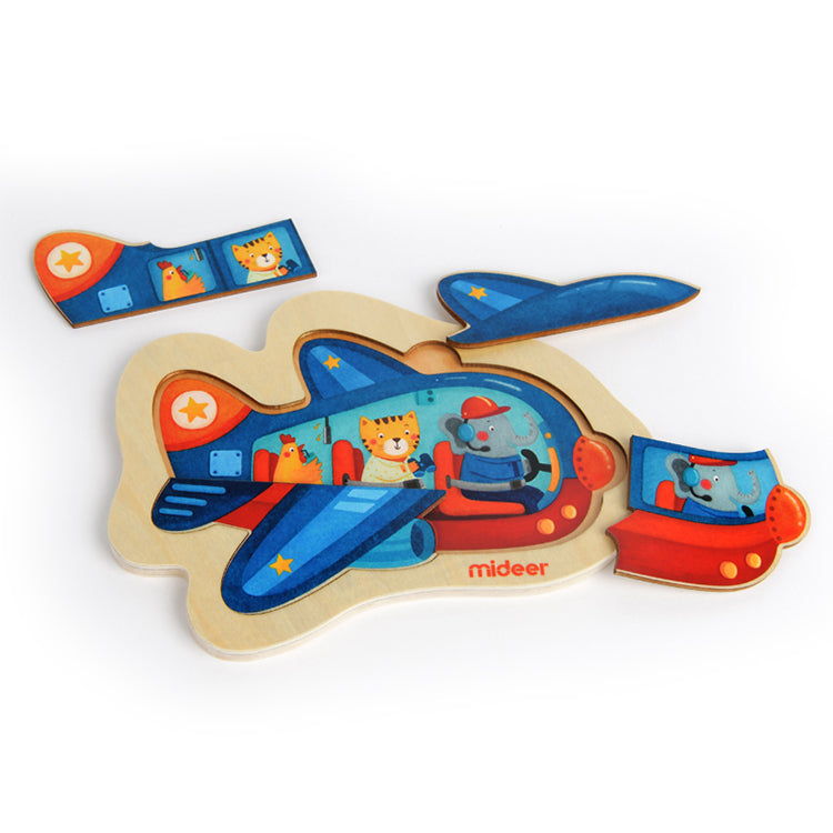 Discovery Puzzle Plane - iKids