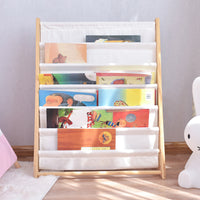 7 Levels Wooden Book Shelf - iKids