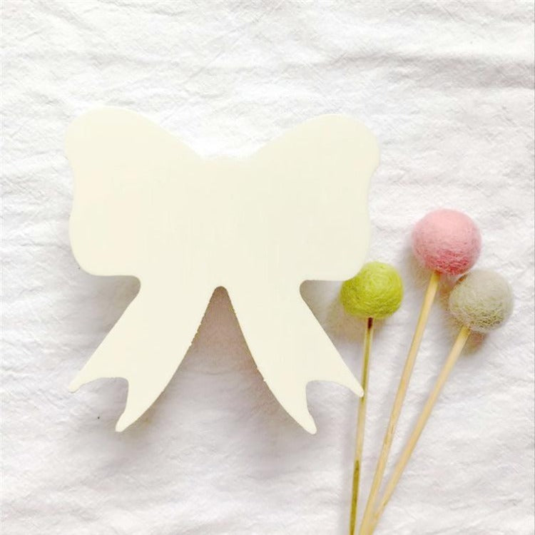 Bowknot Wall Hook White - iKids