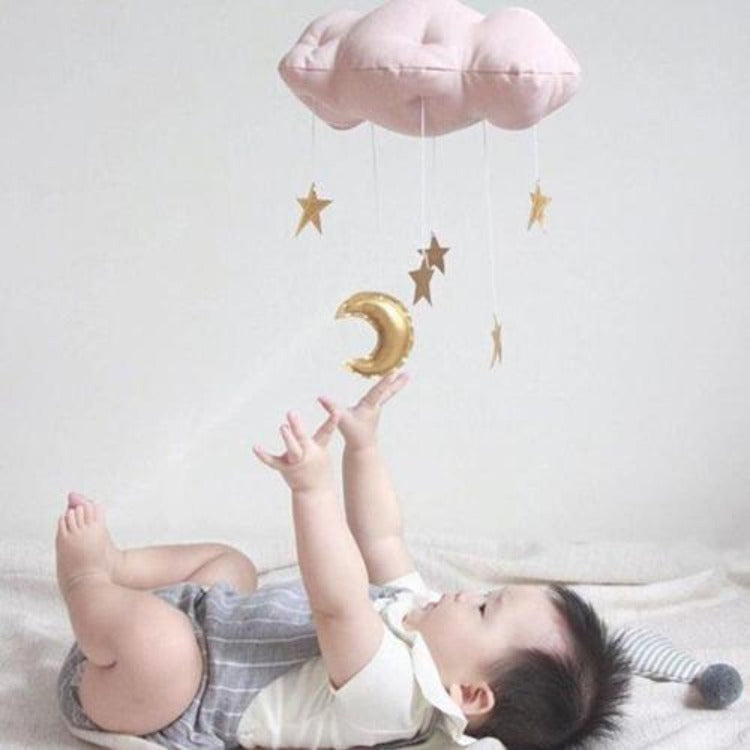 Hanging Cloud & Star Pink - iKids