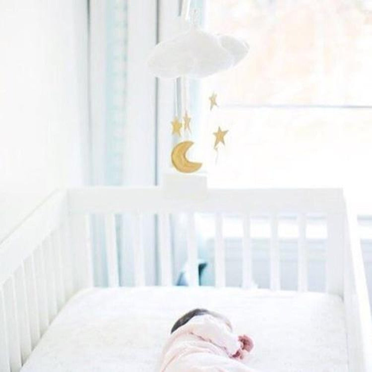Hanging Cloud & Star White - iKids