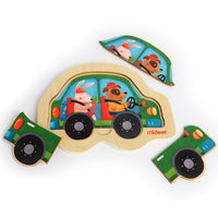 Discovery Puzzle Car - iKids