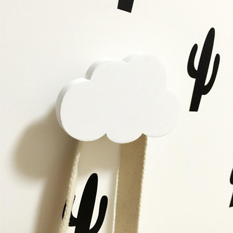 Cloud Wall Hook White - iKids