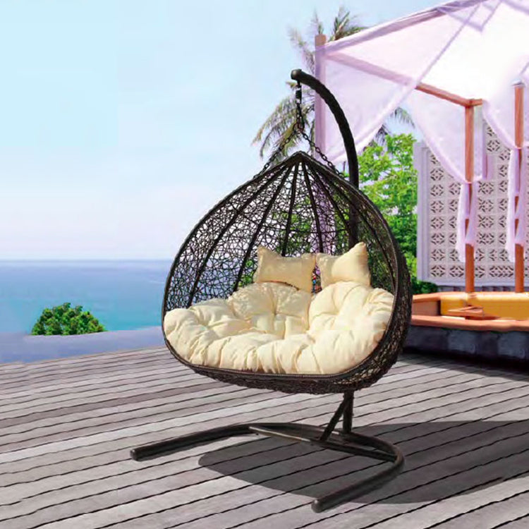 Hanging Chair 2-Seater Brown - iKids