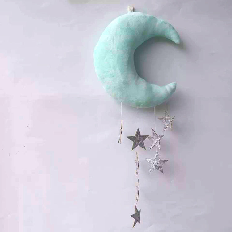 Hanging Moon Mobile Green - iKids