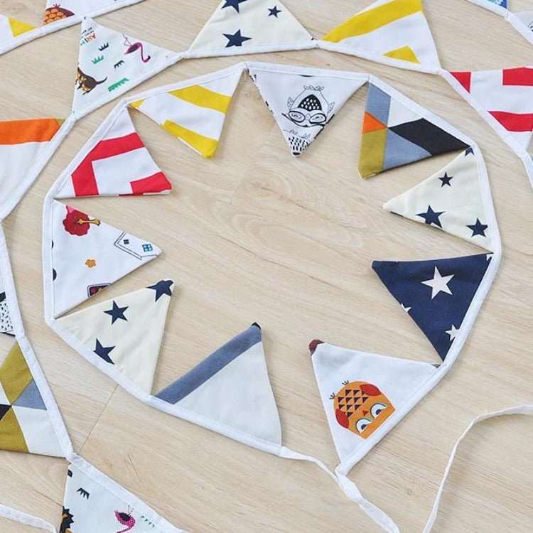 Bunting Banner Flags - iKids