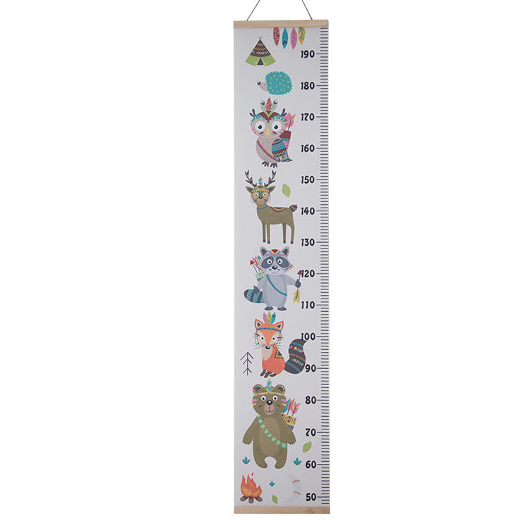 Height Chart Forest - iKids
