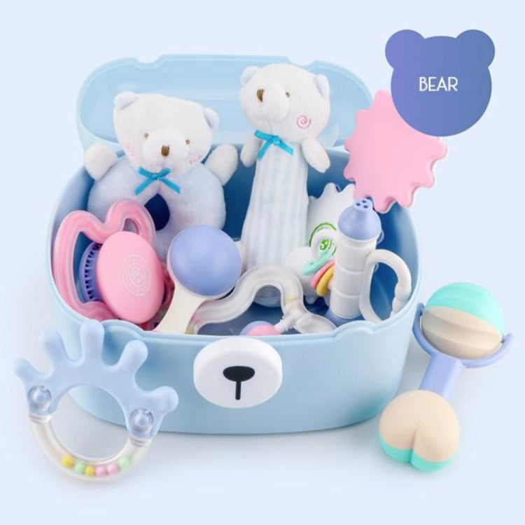 Baby Teething Toys Bear Gift Set - iKids