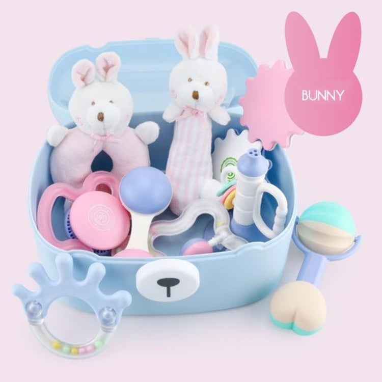 Baby Teething Toys Bunny Gift Set - iKids