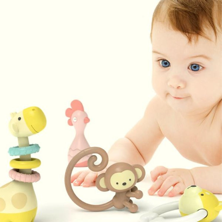 Goryeo Baby Rattle Toys Gift Set 7 Piece - iKids