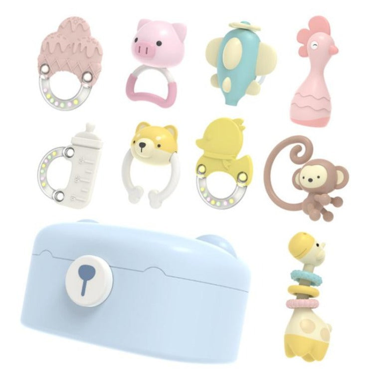 Baby Teething Toys Gift Set 10 Piece - iKids