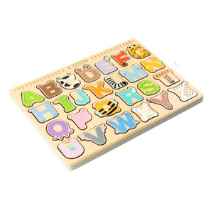 English Letters See-Inside Puzzle - iKids