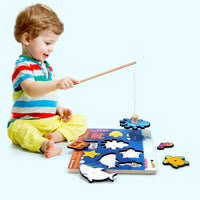 Fishing Game See-Inside Puzzle - iKids