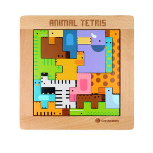 Animal Shaped Tetris Block - iKids