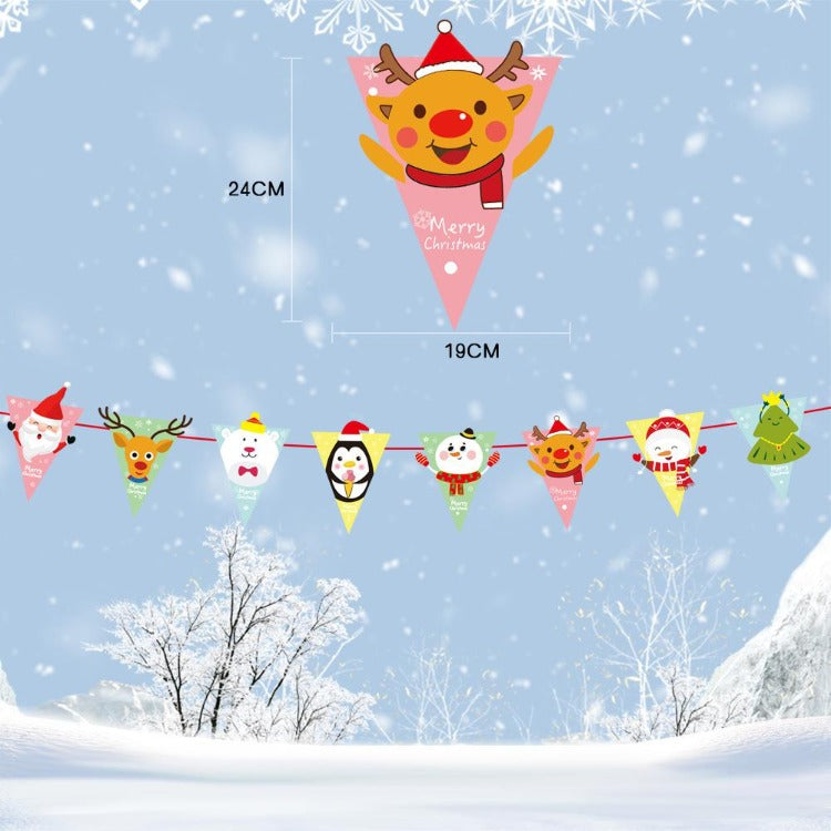 Christmas Banner Animal - iKids