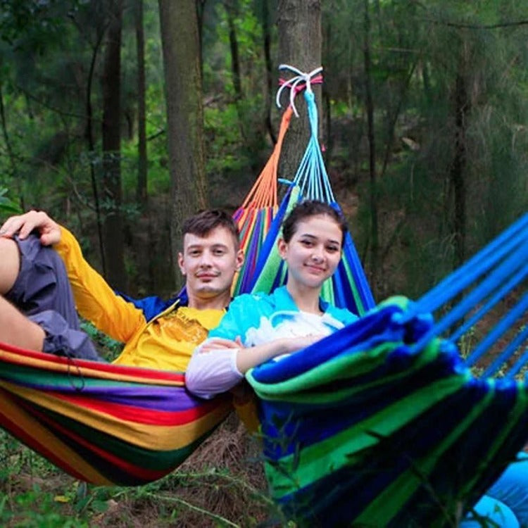 Fabric Hammock Blue - iKids