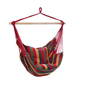 Hanging Chair Hammock Red - iKids