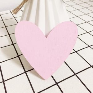 Heart Wall Hook Pink - iKids