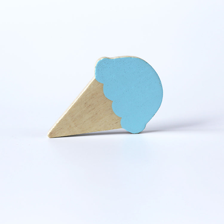 Ice Cream Wall Hook Blue - iKids