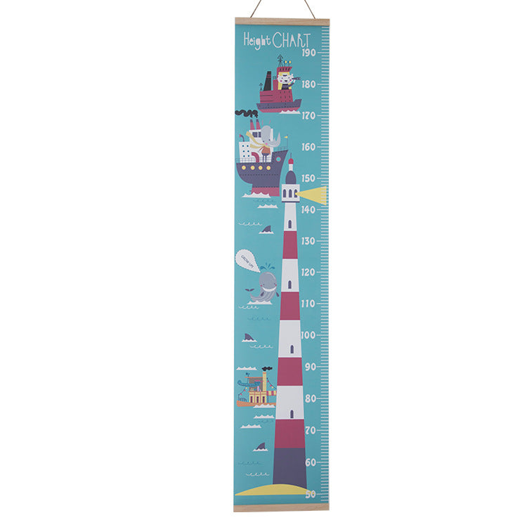 Height Chart Lighthouse - iKids