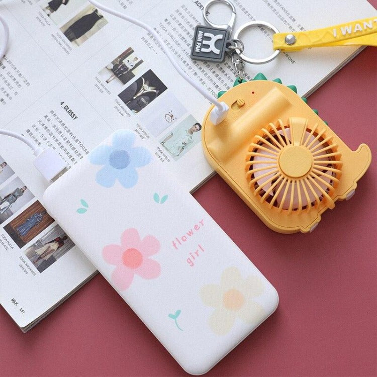 Yellow Dinosaur Pocket Fan - iKids